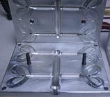 5Y Grub, Twin Tail, Injection, 4 Cavity